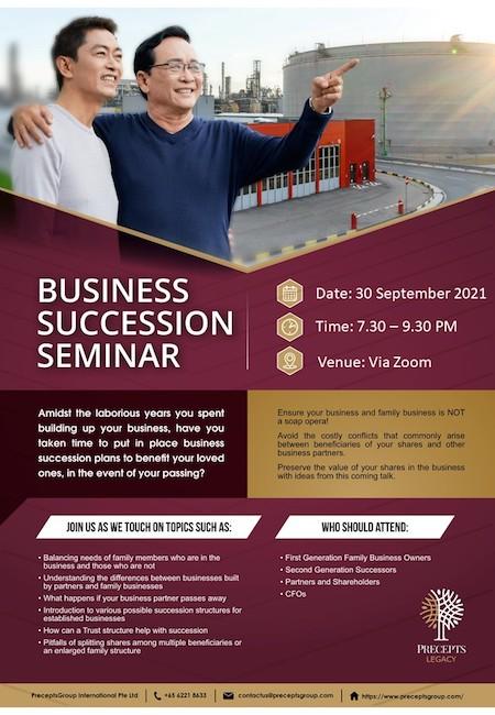 Business Succession Seminar