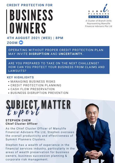 Business protection seminar